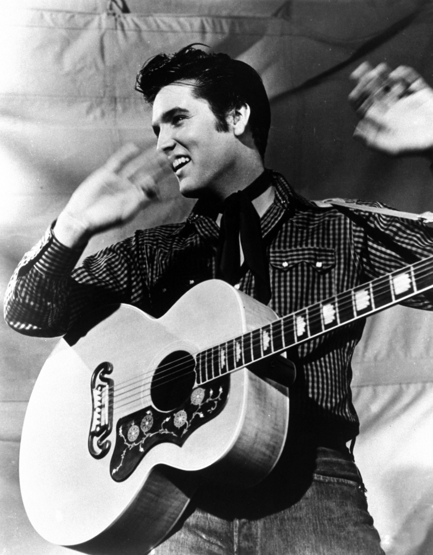 Elvis presley king of rock and