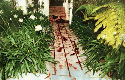 Nicole Brown Simpson's Body at her Bundy Home
