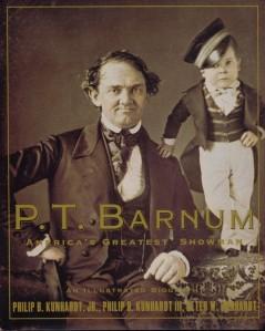 PT Barnum and Tom Thumb