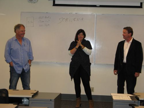 DP Lyle, Kathleen Antrim, and T. Jefferson Parker