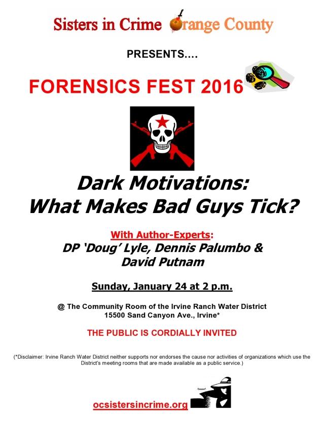 Forensics Fest 16 flyer