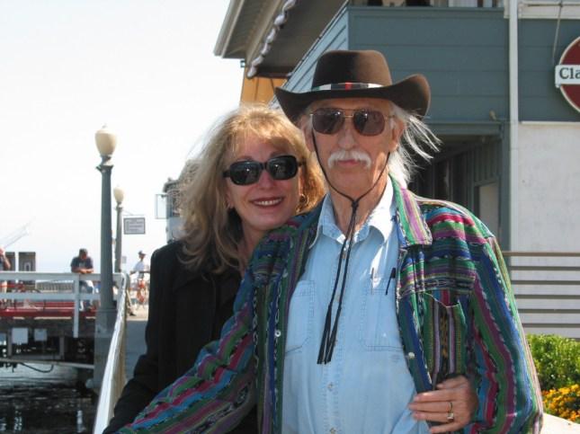Gayle & Den on SB wharf